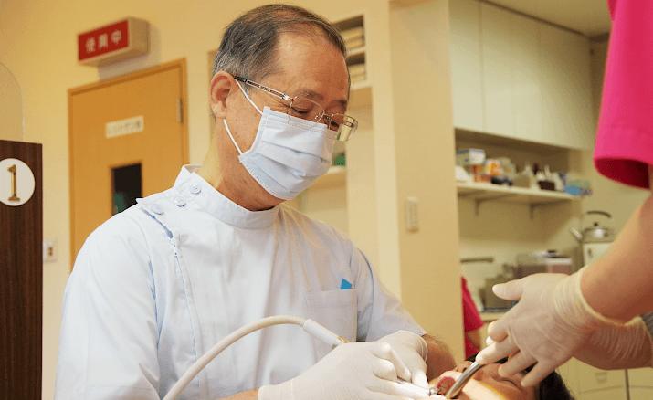 むし歯治療1